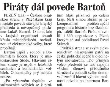 poslanec Lukáš Bartoň